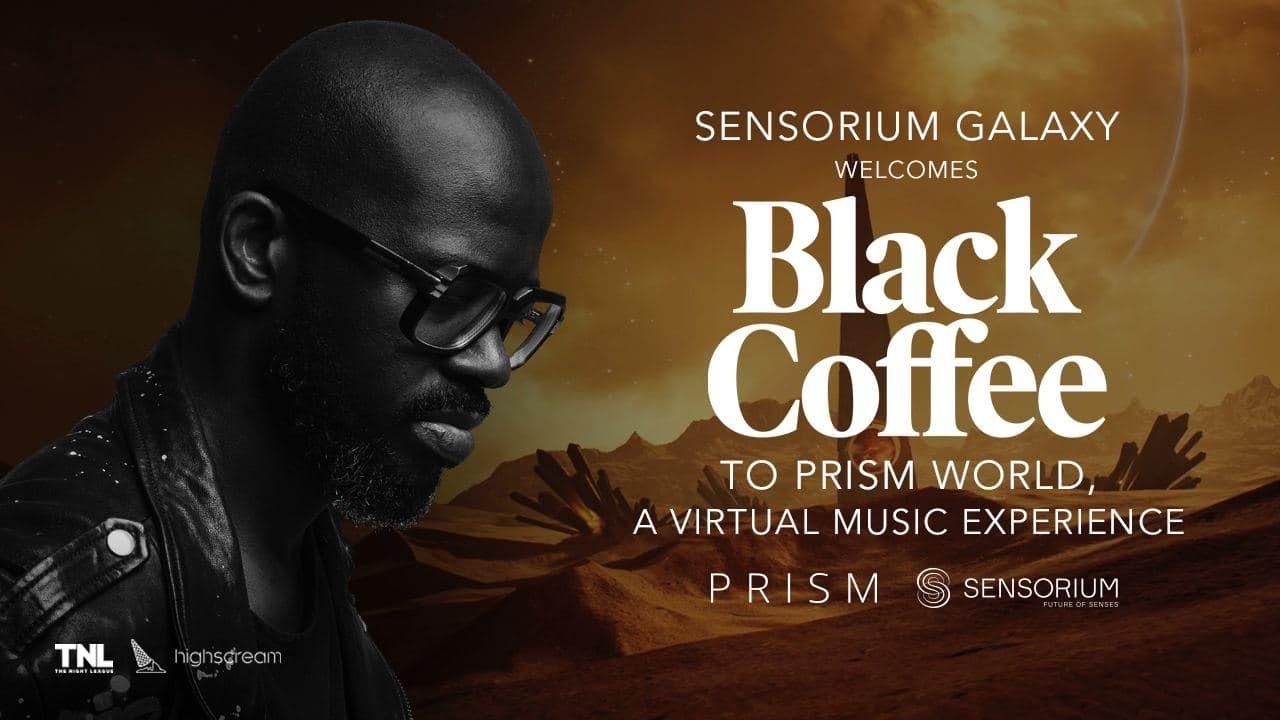 Black Coffee Joins Sensorium Galaxy To Take 'Afropolitan House' Into VR